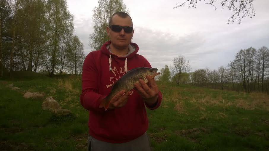 Marcin Wiczk 36 cm. wg. 0.72 kg. wobler jez.Krosnowskie.